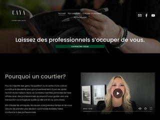Paul Caya, courtier automobile