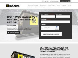 Location de conteneurs Recybac