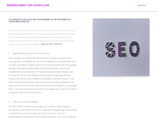 Détails : Agence referencement site expert