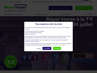 Reparation store banne