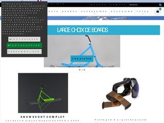 Détails : Snowscootdoc
