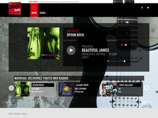 Détails : web radio rock