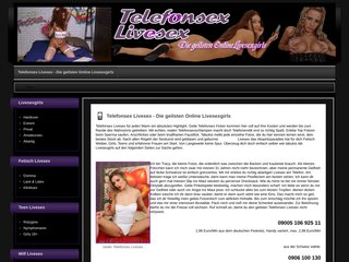 Détails : Telefonsex Online Livesexgirls
