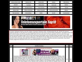Telefonsextopliste der 10 besten Telefonerotik Portale