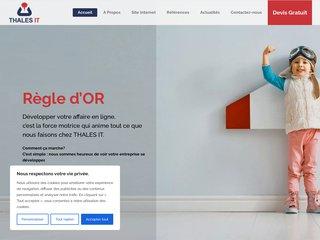 Détails : Thales IT - Conception de sites web à Genève