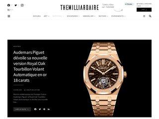 Détails : Montres de luxe