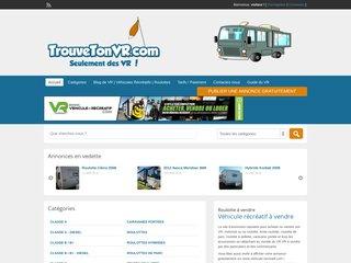 TrouveTonVR.com - Annonces classées pour vendre ou acheter un VR ou des accessoires.