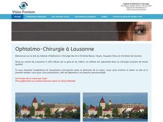 Traitement de la dégénérescence maculaire à Lausanne