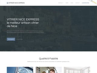 vitrier Nice express