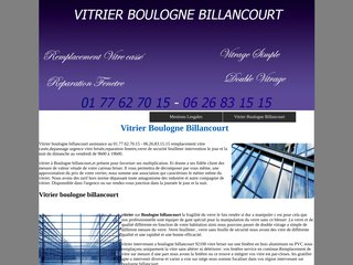 vitrier boulogne billancourt