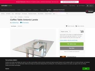 Coffee Table Antonio Lareto Furnishings