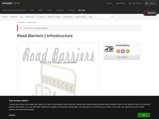 Road Barriers Infrastructure