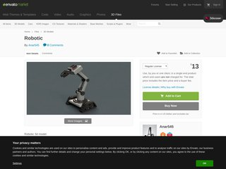 Robotic (3D Models)