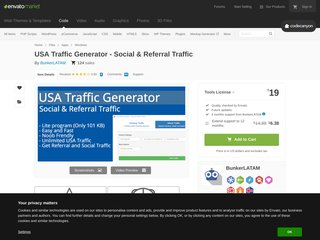 USA Traffic Generator - Social Referral Traffic (Windows)