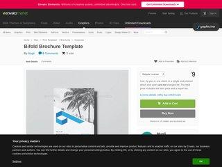 Bifold Brochure Template (Corporate)