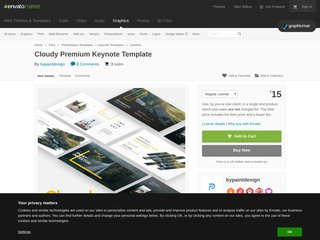 Cloudy Premium Keynote Template (Creative)