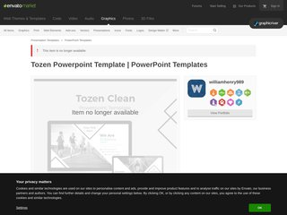 Tozen Powerpoint Template PowerPoint Templates