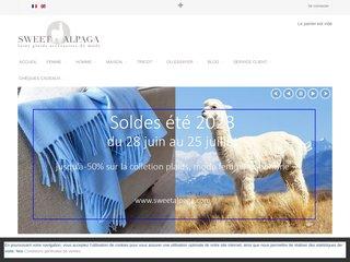 Détails : Sweet Alpaga : le Spécialiste de la laine Baby Alpaga