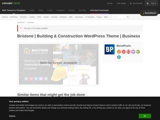 Bristone | Building Construction WordPress Theme (Business)