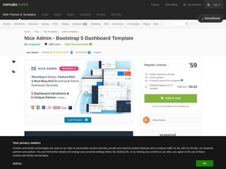 Nice Admin - Bootstrap 4 Dashboard Template (Admin Templates)