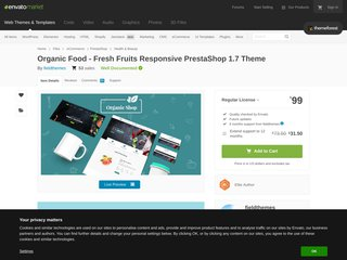 Organic Shop Responsive Prestashop 17 Theme Health Beauty