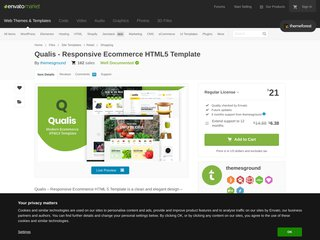 Qualis - Responsive Ecommerce HTML5 Template (Shopping)