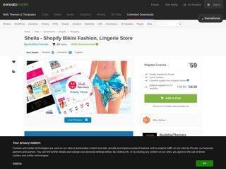 Sheila - Bikini Store Shopify Theme (Shopping)