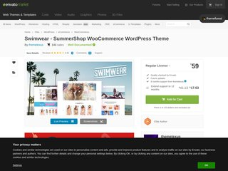 Swimwear - SummerShop WooCommerce WordPress Theme (WooCommerce)