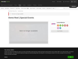 Demo Reel Special Events