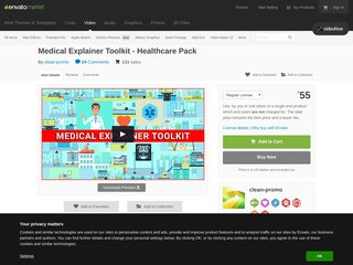 Medical Explainer Toolkit Healthcare Pack Commercials