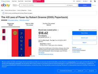 The 48 Laws of Power by Robert Greene Social Philosophy 1st Edition, 2000 [PDF]