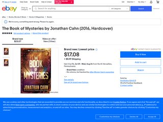 The Book of Mysteries by Jonathan Cahn (eBøøks, 2016) *INSTANT DELIVERY*