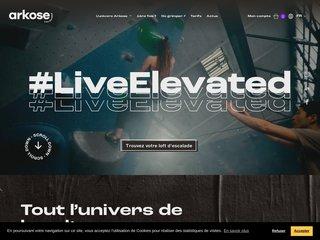 Arkose - Salle d'escalade Montreuil, Nation, Massy