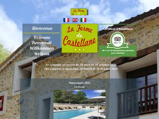 Camping  La ferme de Castellane ***