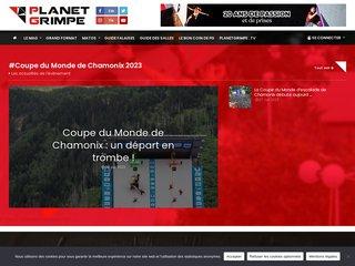 Planète Grimpe - Vidéos, photos et articles d'escalade