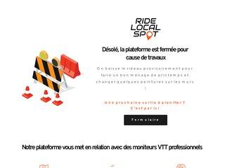 Ride local spot - réservation guide VTT