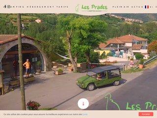 Camping Les Prades 4 étoiles à Mostuejouls