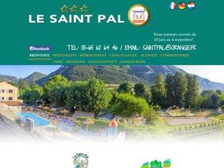 Camping Saint Pal 3 étoiles à Mostuejouls