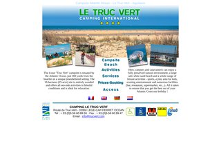 Camping Du Truc Vert 4 étoiles à Lege Cap Ferret