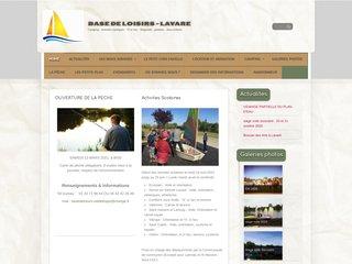 Camping Du Val De Braye 2 étoiles à Lavare