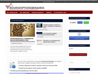 BourseOptionsBinaires - Comparateur, conseils trading