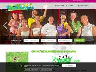 Camping Au P'Tit Bonheur 3 étoiles à Peyrillac Et Millac
