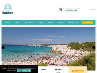 Camping La Source 3 étoiles à Martigues