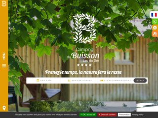 Camping Le Domaine Du Buisson 3 étoiles à Louvemont
