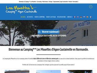 Camping Les Mouettes 2 étoiles à Agon Coutainville