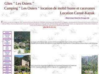Camping Les Osiers 3 étoiles à Montbrun