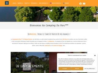 Camping Du Parc 3 étoiles à Azé