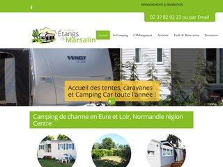 Camping Des Etangs De Marsalin 2 étoiles à Vert En Drouais