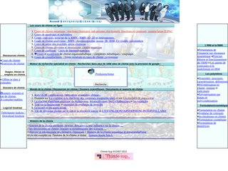 screenshot http://chimie-sup.fr Chimie sup : cours, moteurs, ressources en chimie