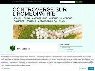 Controverse sur l'homéopathie